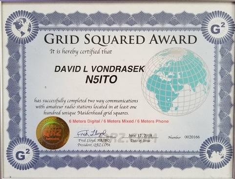 QRZ Grid Square Award