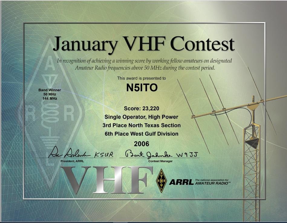 2006 Jan VHF