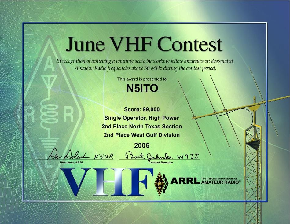 2006 Jun VHF